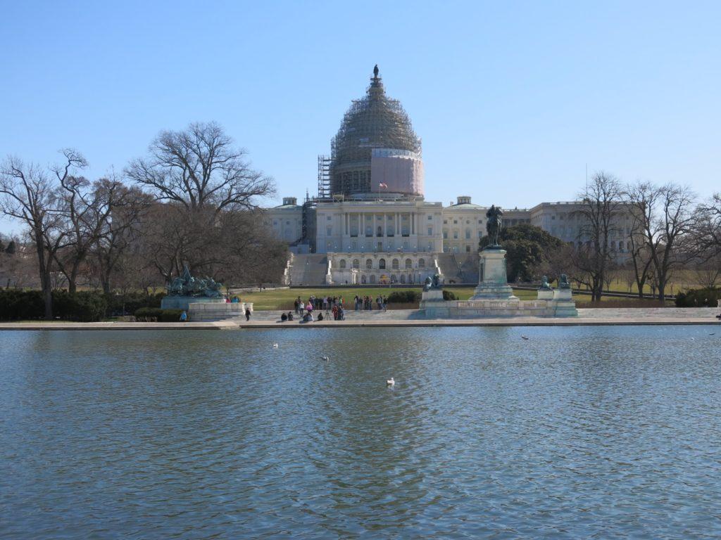 Capitolio. Una pena que lo estuviesen remodelando