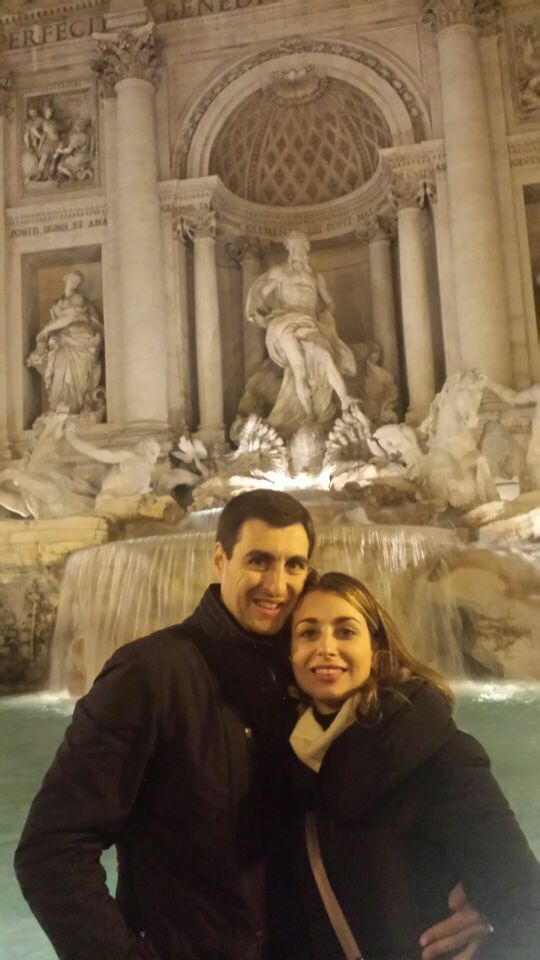 Violeta y Javier: Roma
