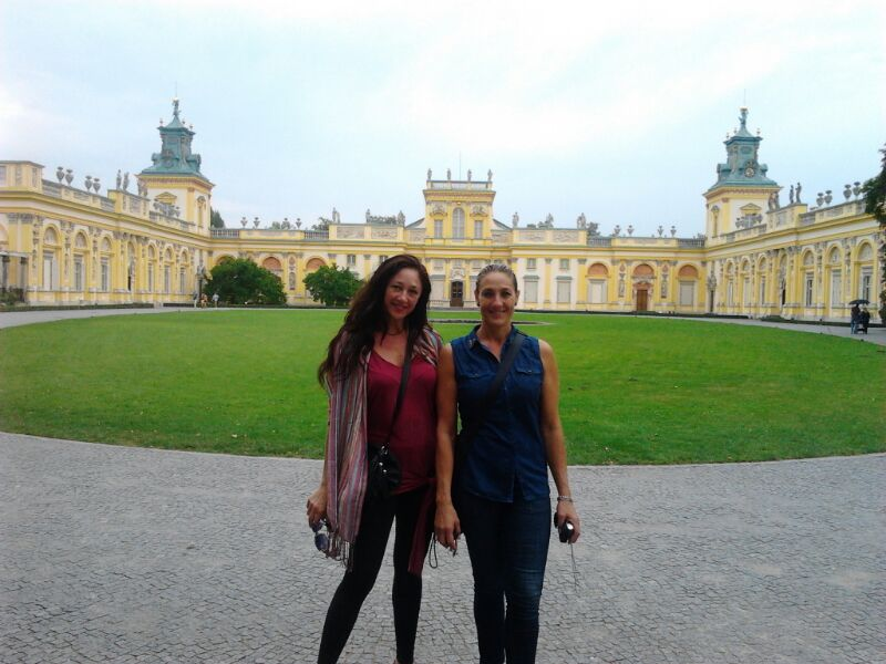 Viaje a Polonia de Mabel