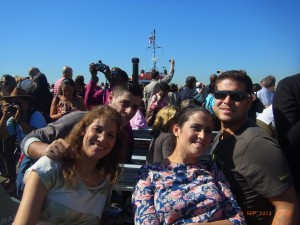 Paula, Pilar, Serafín y Fernando: Nueva York