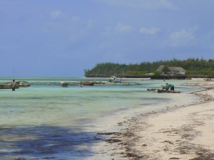 Cris y Alberto en Kenia y Zanzibar
