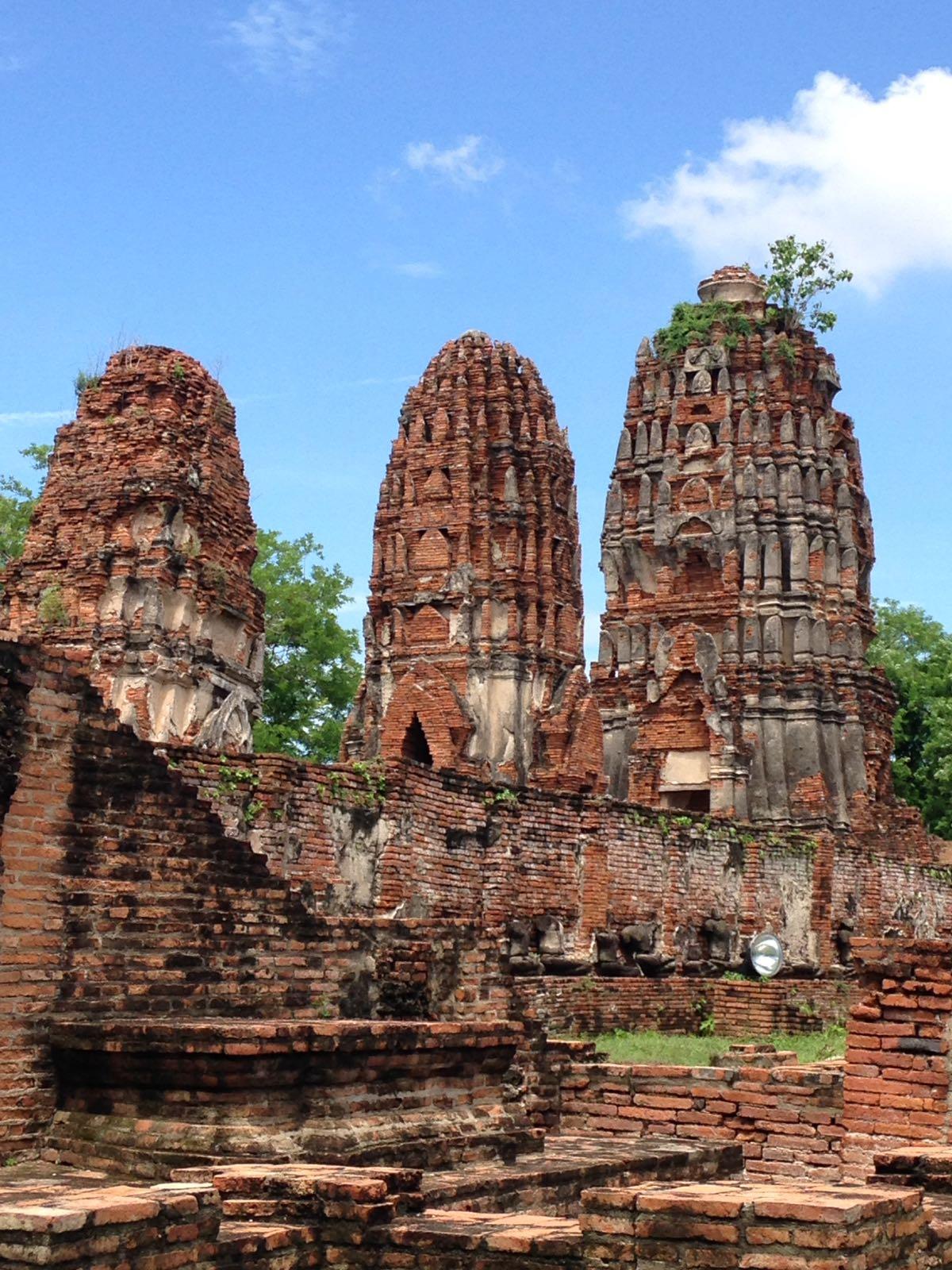 Ana, Lupe y Paloma, descubriendo Tailandia