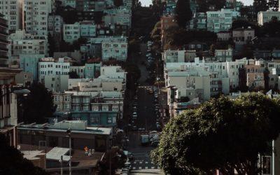 Costa Oeste, conduciendo desde San Francisco a los Ángeles.